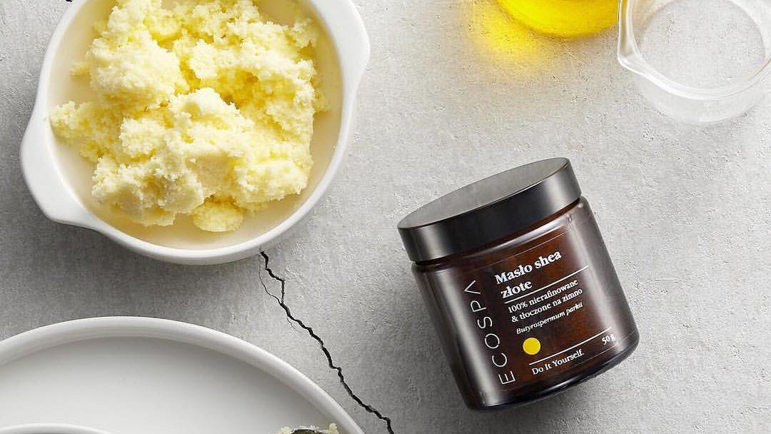 Masło shea Ecospa